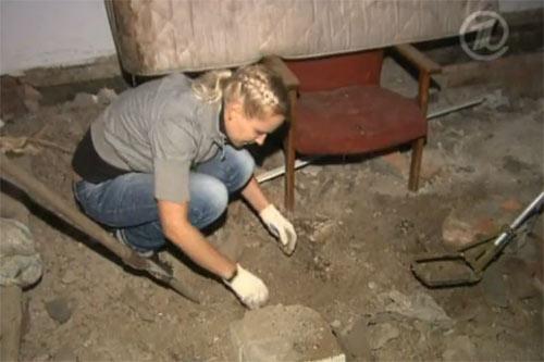 поиски с металлоискателем в старом доме