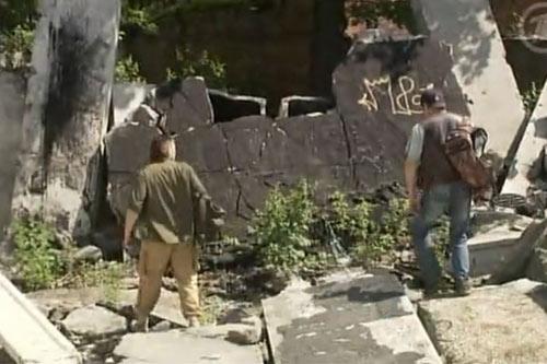 Поиски с металлоискателем в брошенных зданиях