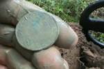 В поисках кладов монет