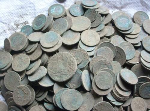 Фото монет из клада