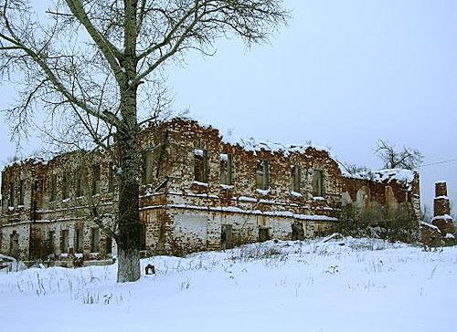 Ненайденный клад помещика Баташева (Гусь-Железный)
