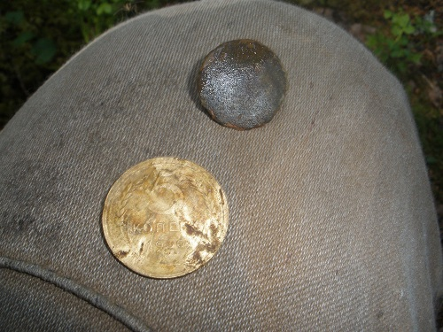 Находки с металлоискателем в лесу