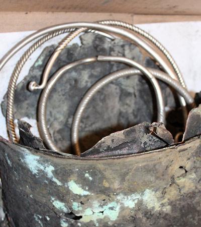 Тюменские археологи нашли клад