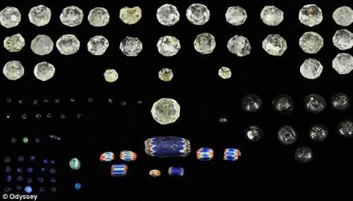 Подборка ювелирных изделий и драгоценных камней