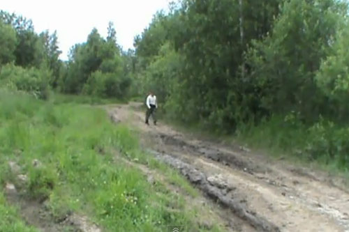 По древним дорогам с металлоискателем
