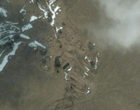 Спутниковый снимок с Google Maps