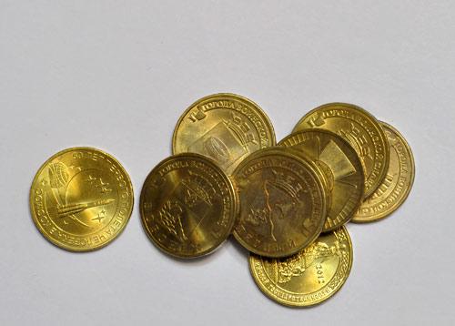 Стальные монеты (10 рублевые монеты нового образца)