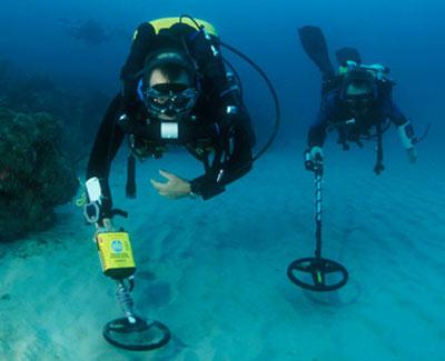 Поиск подводных кладов