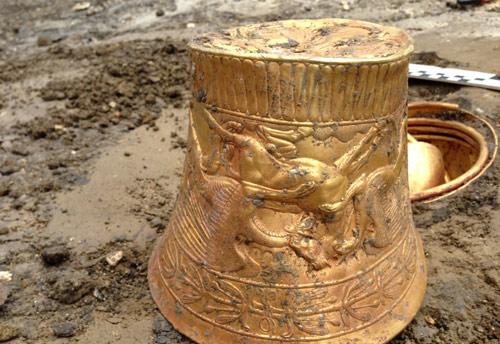 На Ставрополье найдено золото сарматов