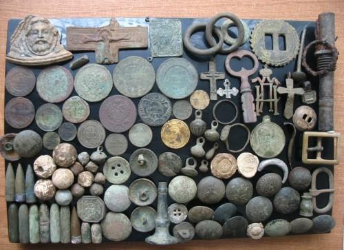 Находки с металлоискателем (фото)
