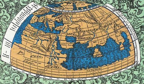 Развитие картографии с древних времен