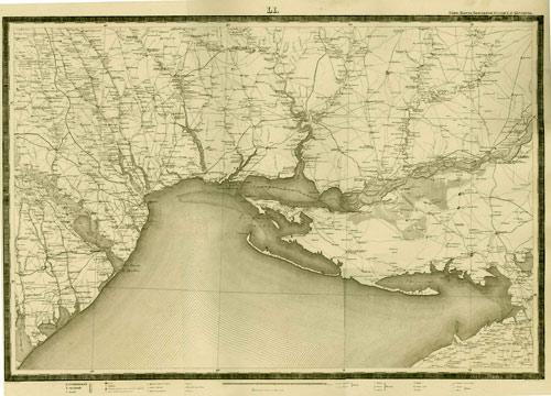 «Специальная» карта Европейской России масштаба 10 верст в дюйме (XIX-XX в.)
