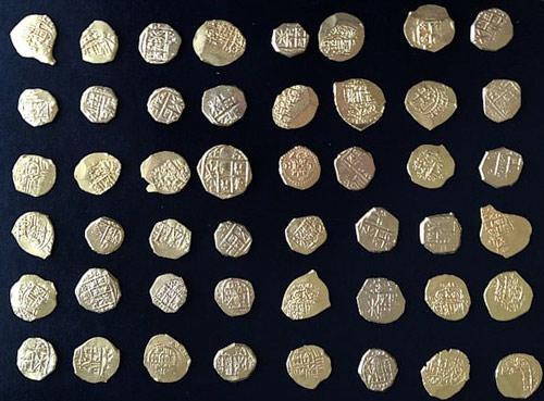 У побережья Флориды найден клад золотых монет