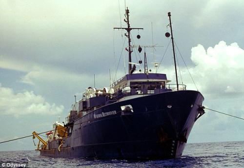 Судно «Seahawk Retriever»