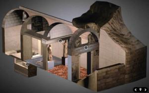 Графическое изображение гробницы