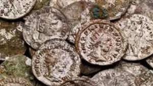 Древнеримские серебряные монеты