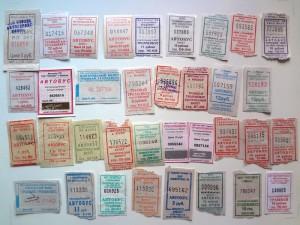 Коллекционирование билетов. Транспорт