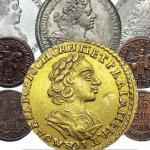 Золотые монеты Елизаветы (1741-1762)
