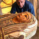 В Египте нашли 27 запечатанных гробов возрастом 2,5 тыс. лет