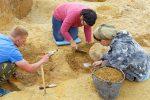 Раскопки сокровища позднего бронзового века